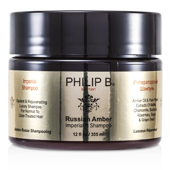 Philip BRussian Amber Imperial Shampoo (For Normal to Color-Treated Hair) 355ml/12oz