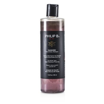 Philip B Lavender Hair & Body Shampoo (for All Hair Types  Color Protecting & Preserving) 350ml/11.8oz