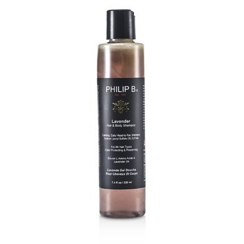 Philip B Lavender Hair & Body Shampoo (For All Hair Types, Color Protecting & Preserving)  220ml/7.4oz