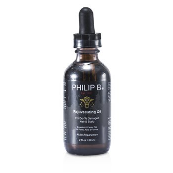 Philip B Rejuvenating Oil (For Dry To Damaged Hair & Scalp)  60ml/2oz