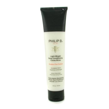 Philip B Light-Weight Deep Conditioning Creme Rinse (Paraben Free Formula)  178ml/6oz