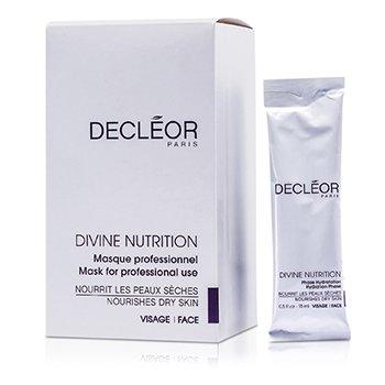DecleorDivine Nutrition Mask - Dry Skin  (Salon Size) 10x15ml/0.5oz