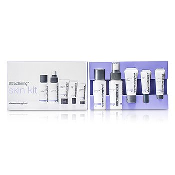 Travel SetUltraCalming Sensitized Skin Treatment Kit: Cleanser + Mist + Masque + Concentrate + Barrier Repair 5pcs