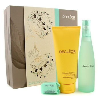 Decleor Tonifying Ritual Coffret: Body Fragrance 100ml/3.3oz + Shower Gel 200ml/6.7oz + Bath Pebble 25g/0.88oz  3pcs