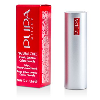 PupaNatural Chic Bright Natural Coloured Lipstick3.8ml/0.12oz
