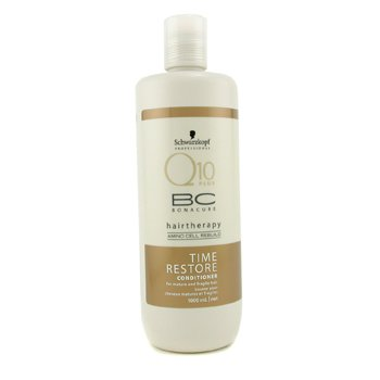 SchwarzkopfBC Time Restore Q10 Conditioner (For Mature and Fragile Hair) 1000ml/34oz
