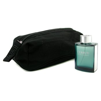Cerruti Cerruti Pour Homme Eau De Toilette Natural Spray (with Toiletry Case)  100ml/3.4oz