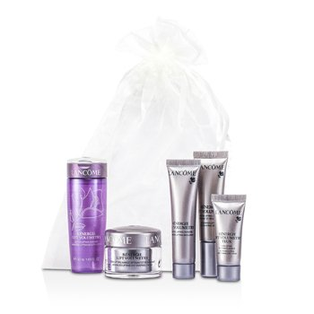 Lancome Renergie Lift Volumetry Travel Set: Beauty Lotion + Cream + Emulsion + Serum + Eye Cream  5pcs