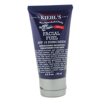 Kiehl's Facial Fuel SPF 15 Sunscreen Energizing Moisture Treatment 75ml/2.5oz