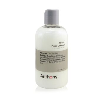 Logistics For Men Glycolic Facial Cleanser - For Normal/ Oily Skin Anthony Logistics For Men Glycolic Facial Cleanser - For Normal/ Oily Skin 237ml/8oz