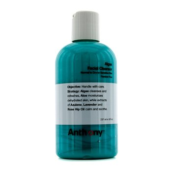 Anthony Logistics For Men Algae Facial Cleanser (Normal To Dry Skin)  237ml/8oz