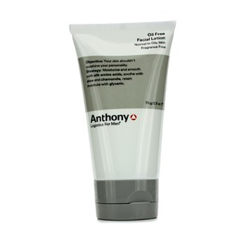 Anthony Logistics For Men Oil Free Facial Lotion (Normal To Oily Skin) 70g/2.5oz