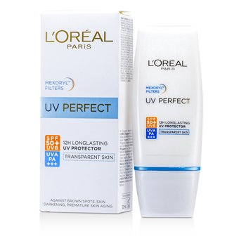L'OrealDermo-Expertise UV Perfect Long Lasting UVA/UVB Protector SPF50 PA+++ - #Transparent Skin 30ml/1oz