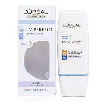 L'OrealDermo-Expertise UV Perfect Long Lasting UVA/UVB Protector SPF50 PA+++ - #Anti-Dullness 30ml/1oz