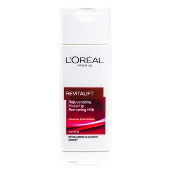 L'OrealDermo-Expertise RevitaLift Rejuvenating Cleansing Rich Make Up Removing Milk 200ml/6.7oz