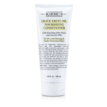 Kiehl's Olive Fruit Oil Nourishing Conditioner (For Dry and Damaged, Under-Nourished Hair)  200ml/6.8oz