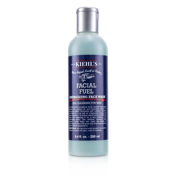 Kiehl`s Facial Fuel Energizing Face Wash Gel Cleanser 250ml/8.4oz