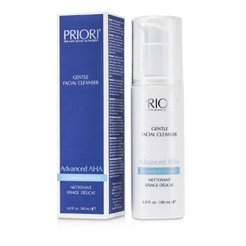 PrioriAdvanced AHA Limpiador Facial Suave 180ml/6oz