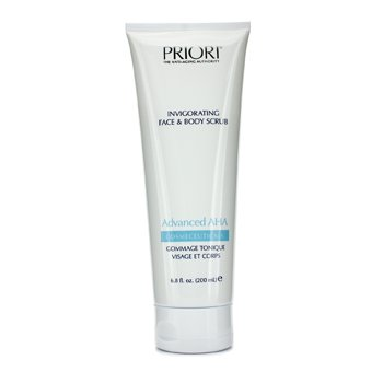 PrioriAdvanced AHA Exfoliante Vigorizante Rostro y Cuerpo 200ml/6.8oz