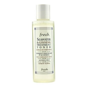 FreshSeawater & Ginseng Treatment Toner  (Normal to Combination) 125ml/4.23oz