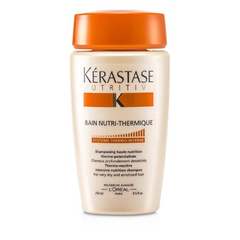 KerastaseNutritive Bain Nutri-Thermique Thermo-Reactive Intensive Nutrition Shampoo (For Very Dry and Sensitised Hair) 250ml/8.5oz