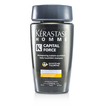 KerastaseHomme Capital Force Daily Treatment Shampoo (Densifying Effect) 250ml/8.5oz