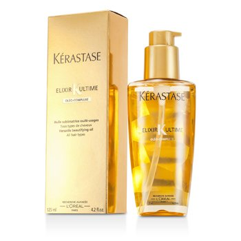 Elixir Ultime Oleo-Complexe Versatile Beautifying Oil (For All Hair Types) ????? ???  [??? ???? ?????]Elixir Ultime Oleo-Complexe Versatile Beautifying 125ml/4.