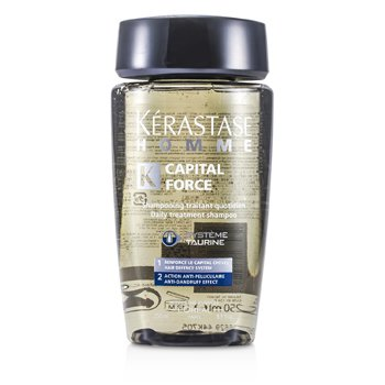 KerastaseHomme Capital Force Daily Treatment Shampoo (Anti-Dandruff Effect) 250ml/8.5oz