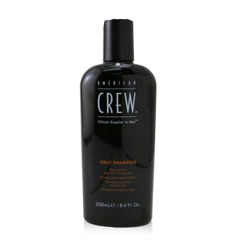 American Crew Men Classic Gray Shampoo (Optimal Maintenance For Gray Hair)  250ml/8.45oz