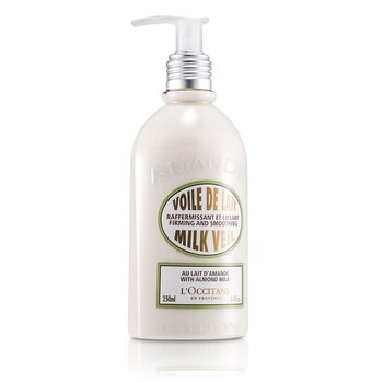 Almond - Tratamento de peleLeite corporal Almond Milk Veil 250ml/8.4oz