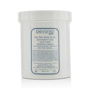 Pevonia Botanica Silky Skin Body Scrub (Salon Size)  500ml/17oz