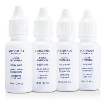 Pevonia BotanicaGreen Coffee Concentrate (Salon Size) 4x15ml