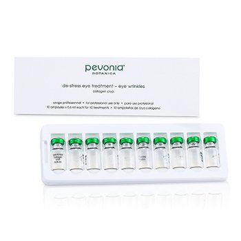 Pevonia BotanicaDe-Stress Eye Treatment - Eye Wrinkles (Salon Size) 10x0.6ml