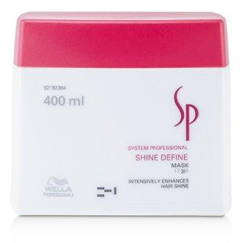 Wella SP Shine Define Mascarilla ( Mejora Brillo Cabello )    400ml/13.33oz
