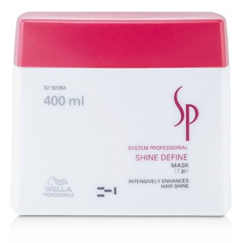 WellaSP Shine Define Mask (Enhances Hair Shine) 400ml/13.33oz
