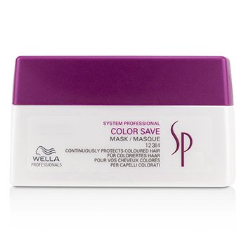 WellaSP Color Save Mask (For Coloured Hair) 200ml/6.67oz