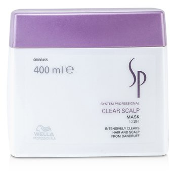 WellaSP Clear Scalp Mask 400ml/13.33oz