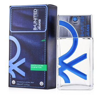 Benetton B United Jeans Men Eau De Toilette Spray 100ml/3.3oz