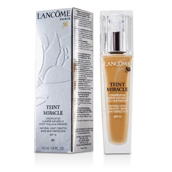 Lancome Teint Miracle Natural Light Creator SPF 15 - # 01 Beige Albatre  30ml/1oz