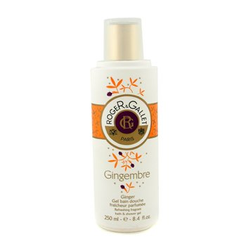 Roger & Gallet Gingembre (Ginger) Refreshing Fragrant Bath & Shower Gel  250ml/8.4oz