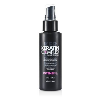 Intense RX Ionic Keratin Protein Restructuring Serum Keratin Complex Intense RX Ionic Keratin Protein Restructuring Serum 118ml/4oz