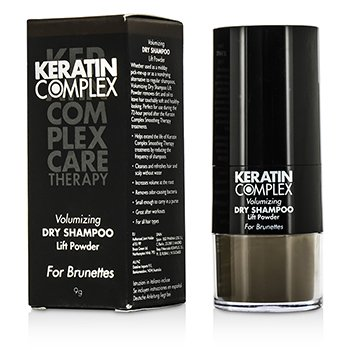 Keratin ComplexVolumizing Dry Shampoo Lift Powder - # Brunettes 9g/0.3oz