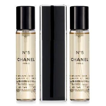 Chanel No.5 Eau Premiere Eau De Parfum Purse Semprot Dan 2 Isi Ulang  3x20ml/0.7oz