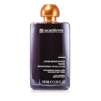 Image of Academie Bronz` Express Face and Body Tinted Self-Tanning Lotion 100ml/3.33oz
