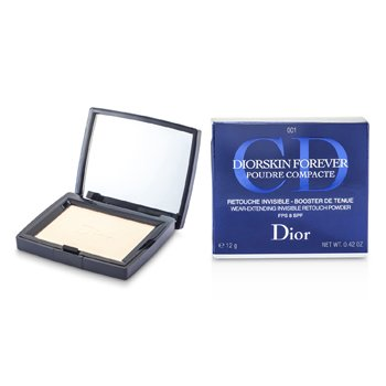 Christian Dior DiorSkin Forever Wear Extending Invisible Retouch Powder SPF 8 - # 001 Transparent Light  12g/0.42oz