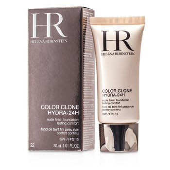 Helena Rubinstein Color Clone Hydra 24H Base Maquillaje Acabado Nude SPF 15 - # 22 Rose Apricot  30ml/1oz
