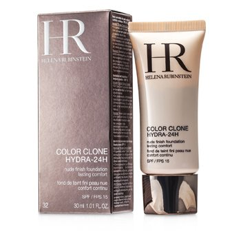 Helena RubinsteinColor Clone Hydra 24H Nude Finish Foundation SPF 15 - # 32 Gold Coffee 30ml/1oz