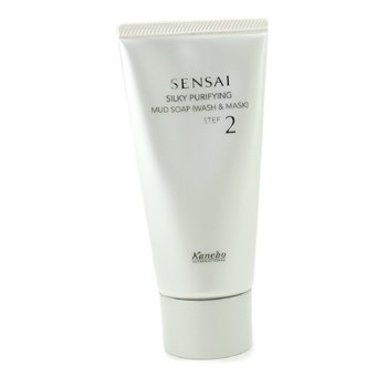 Kanebo Sensai Silky Purifying Mud Jabon ( Jab�n y M�scara )  125ml/4.2oz