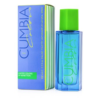 Benetton Cumbia Colors Eau De Toilette Spray  100ml/3.4oz