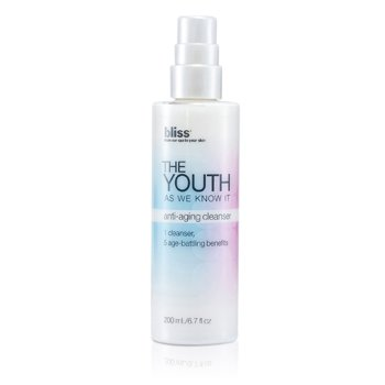 Bliss The Youth As We Know It Anti-Aging Cleanser  200ml/6.7oz